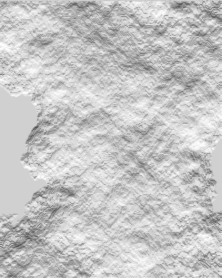 Grunge and rough cement plaster of a wall computer generated background and wallpaper design royalty free illustration