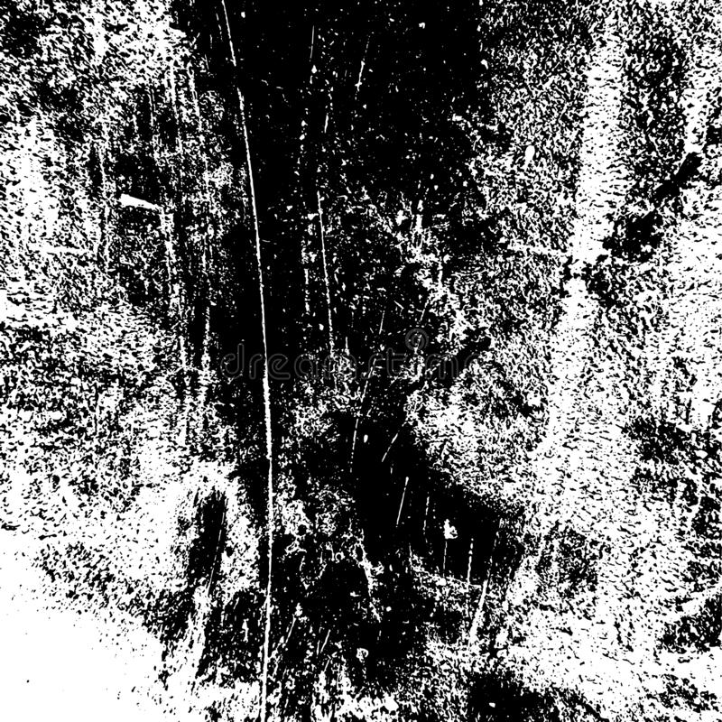 Grunge Overlay Texture. Grunge rough dirty background. Overlay aged grainy messy template. Distress urban used texture. Brushed black paint cover. Renovate wall vector illustration