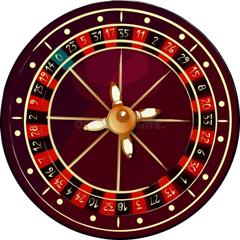 Download Grunge roulette wheel stock vector. Image of original - 19165673