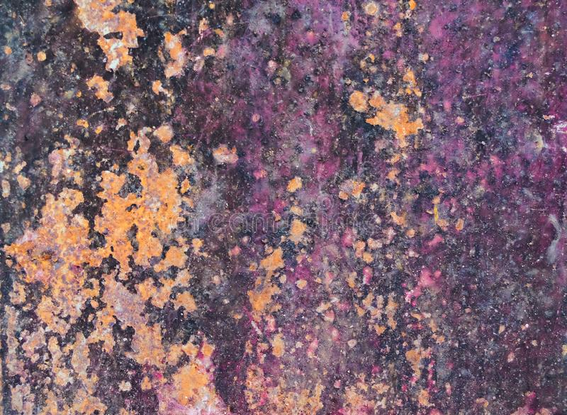 Grunge rusted metal texture and oxidized metal. Background royalty free stock photography