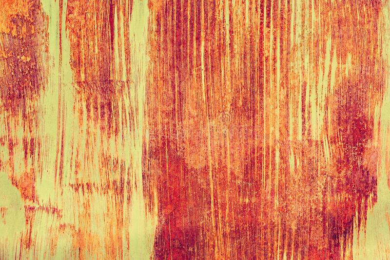 Grunge rusted metal texture, rust and oxidized metal background. Old metal iron panel royalty free stock images