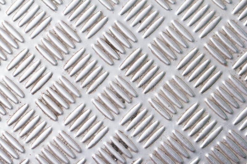 Grunge Rusty Steel Floor Plate imagem de stock