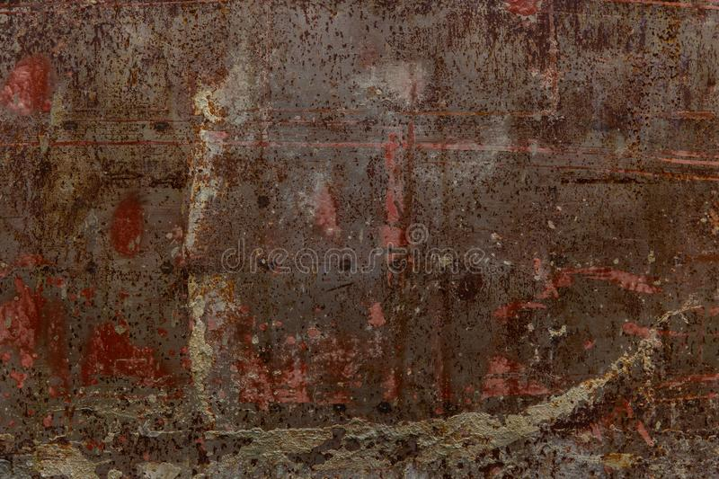 Grunge rusty texture metal sheet old aged pattern stock image