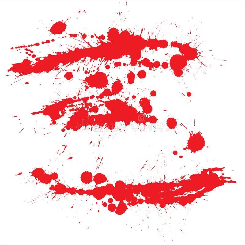Grunge sangrento ilustração royalty free