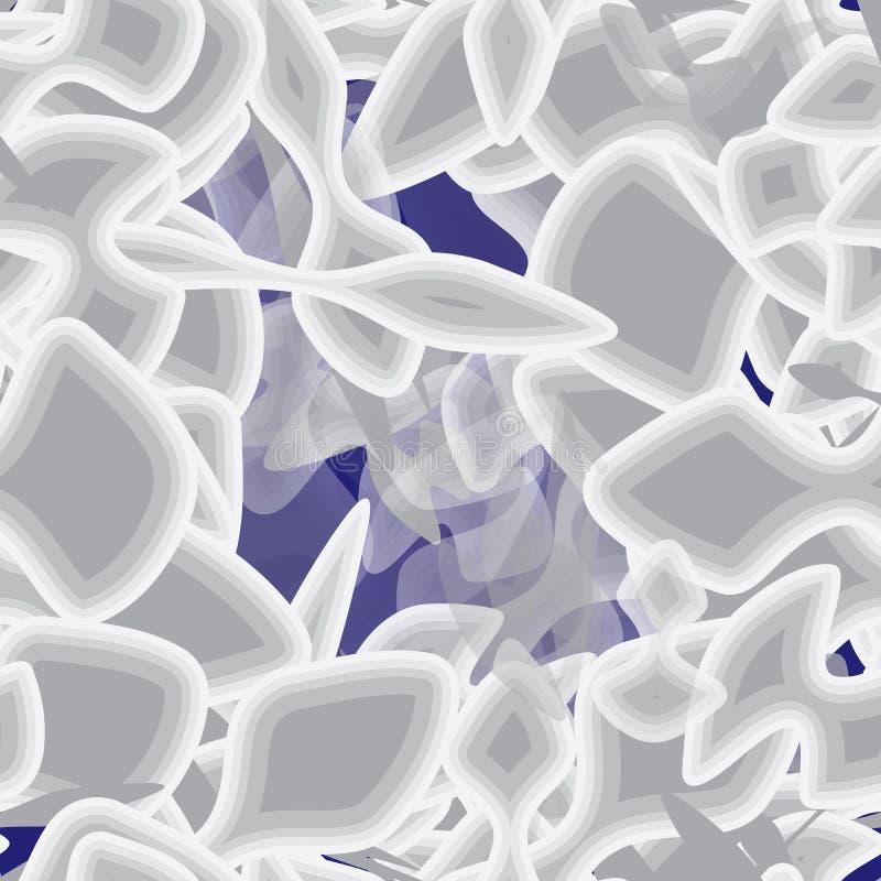 Grunge sans couture abstrait illustration de vecteur