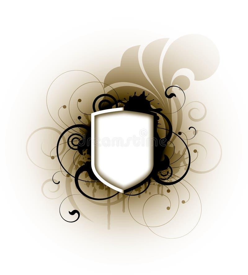 Download Grunge Schild vektor abbildung. Illustration von braun - 9091319