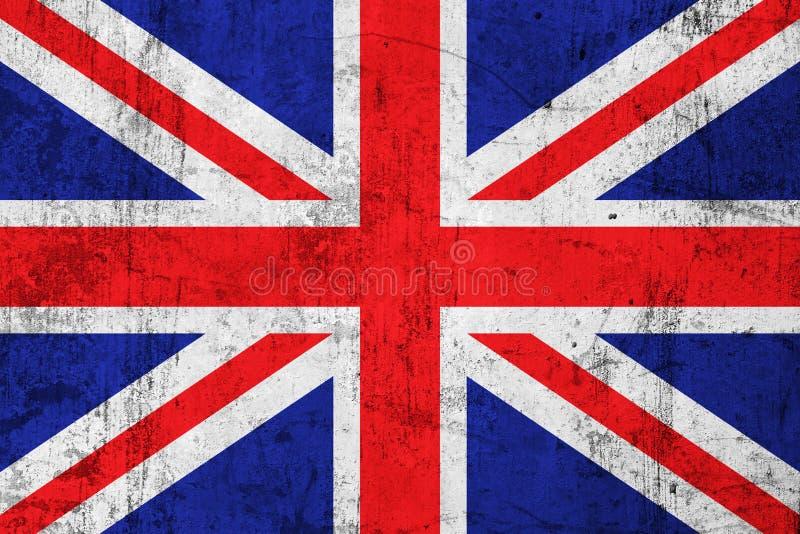 Grunge schmutzige britische Markierungsfahne