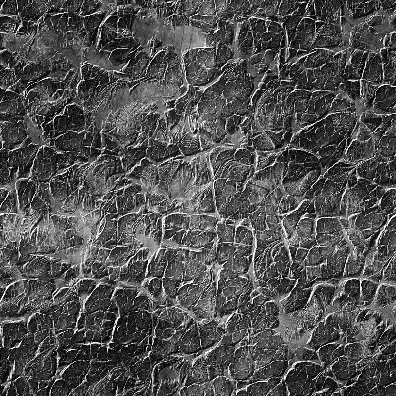 Grunge schwarze Wand Städtische nahtlose Beschaffenheit lizenzfreie stockfotos