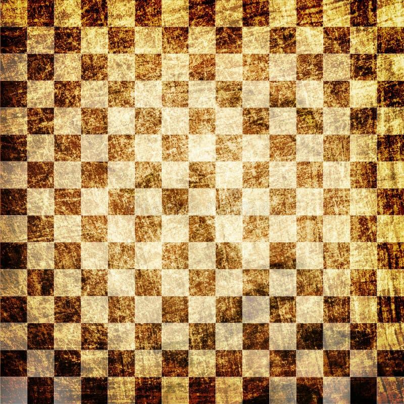 Download Grunge Scratched Chessboard Stock Illustration - Image: 20409649