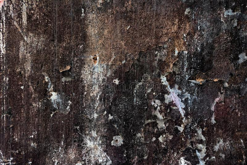 Grunge, scratched, shabby gloomy texture close royalty free stock photos