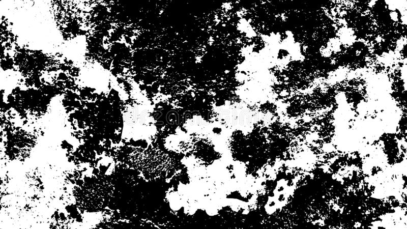 Grunge, seamless black, white urban pattern, texture. monochrome dots and Linnaeus, abstract dotted, scratched, vintage effect. royalty free stock image
