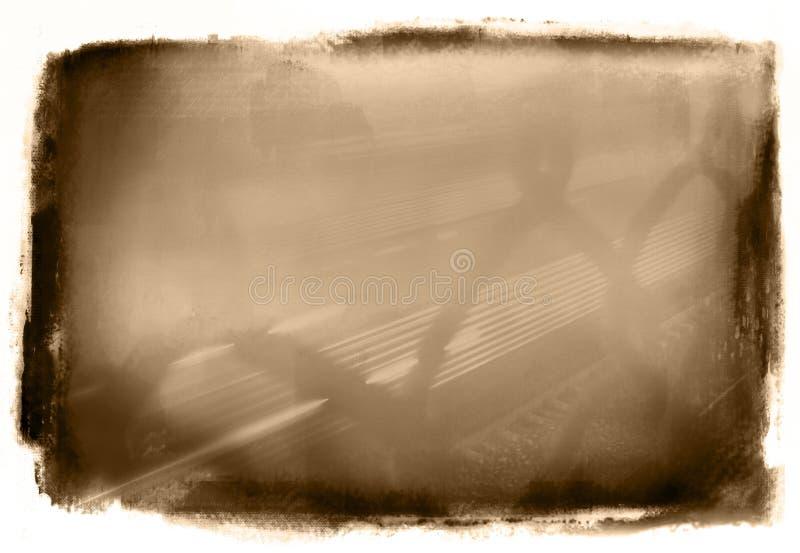 grunge sepiowy ilustracja wektor
