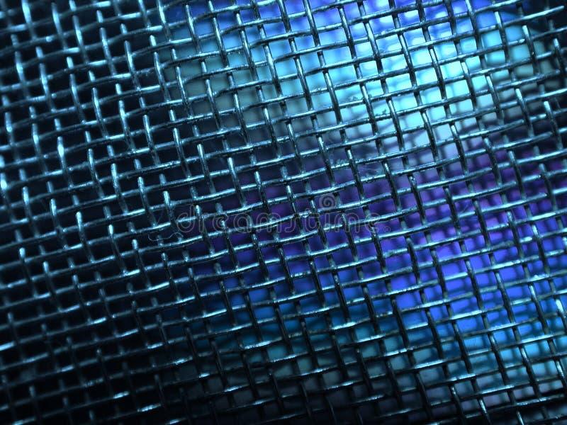 Grunge Sieci Zdjęcia Przewód Metali Obraz Stock