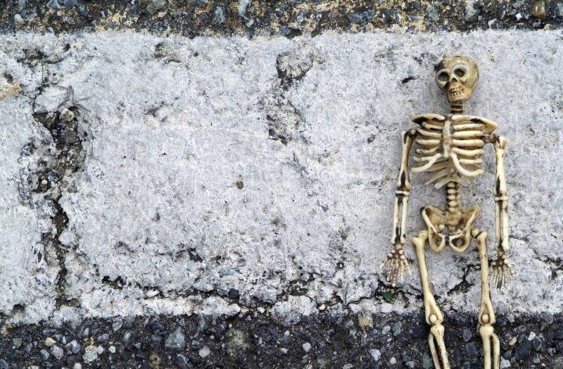 Grunge Skeleton Background Royalty Free Stock Photo