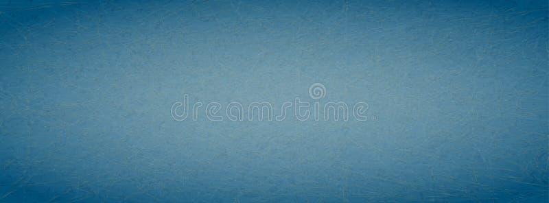 Grunge skrapad blå bakgrund med effekt för marmorpapper stock illustrationer