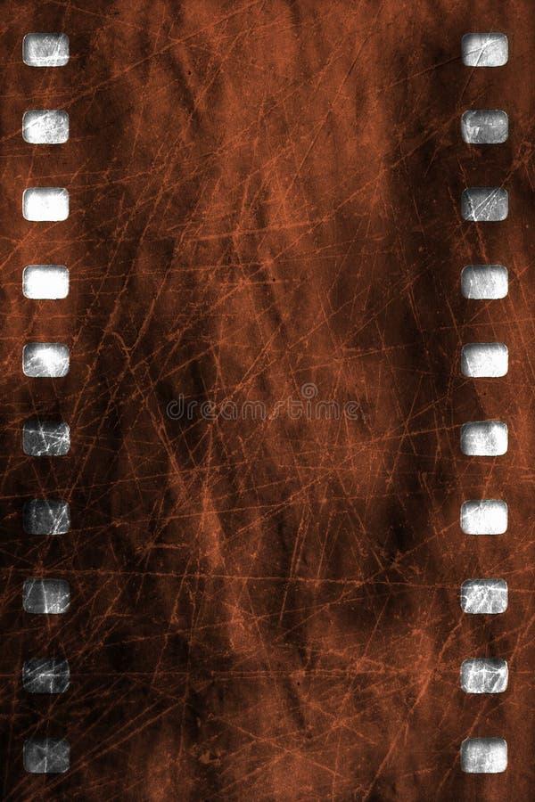 Grunge skrapad filmtextur vektor illustrationer