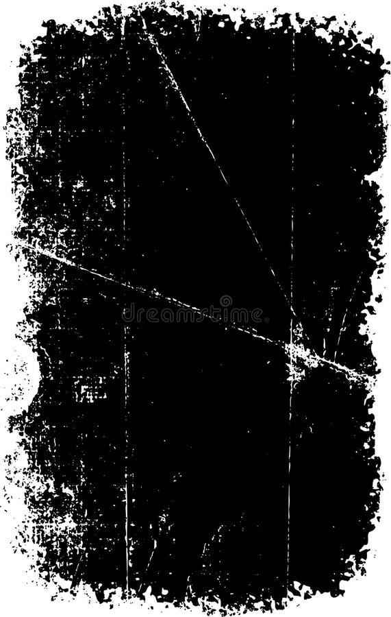 grunge skrapad textur vektor illustrationer
