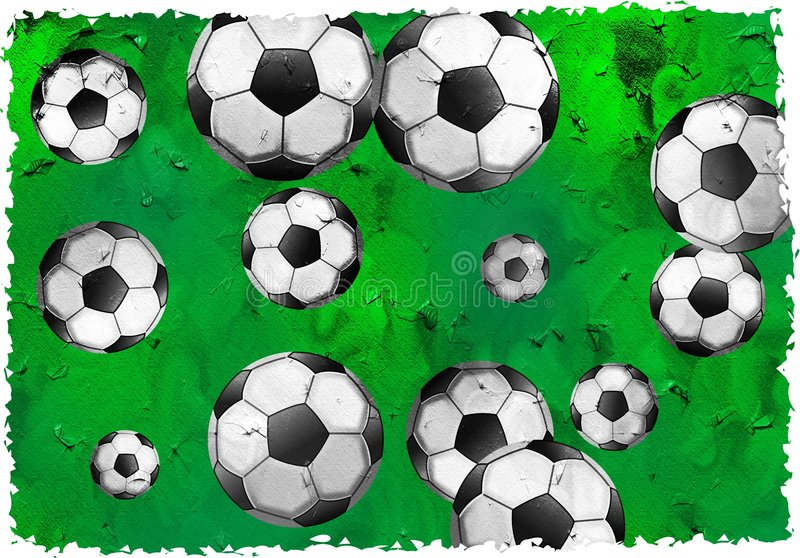 Download Grunge soccer stock image. Image of sport, parchment, football - 2926023