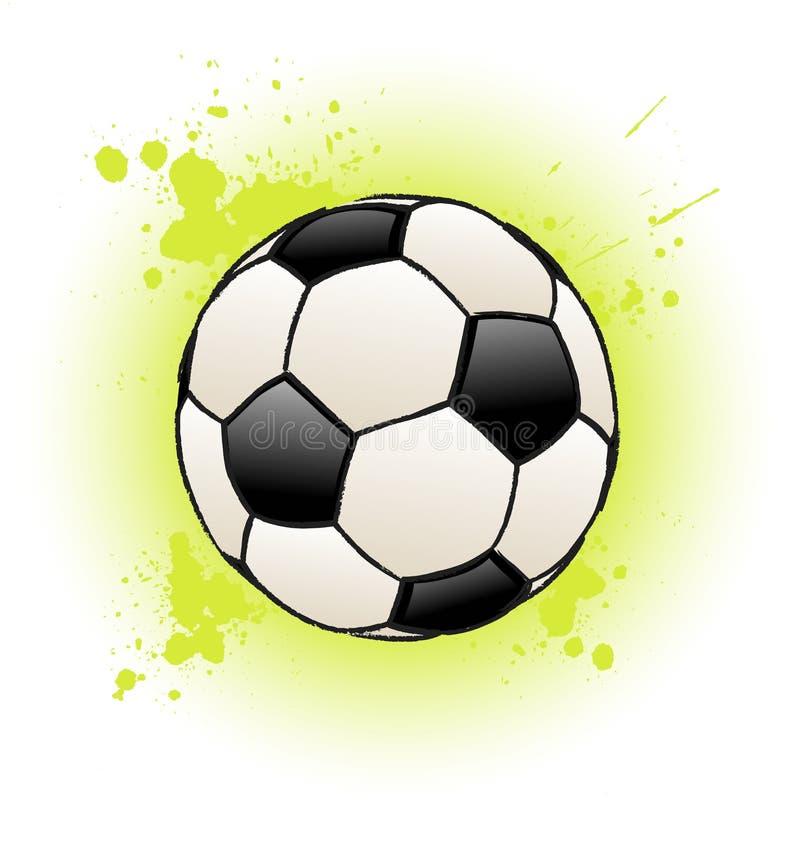 Download Grunge Soccer Ball stock vector. Image of illustration - 9144659