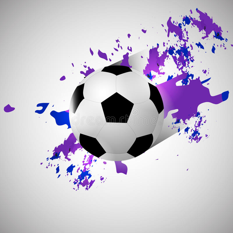 Download Grunge Soccer Ball Background Stock Vector - Illustration of artwork, design: 42184686
