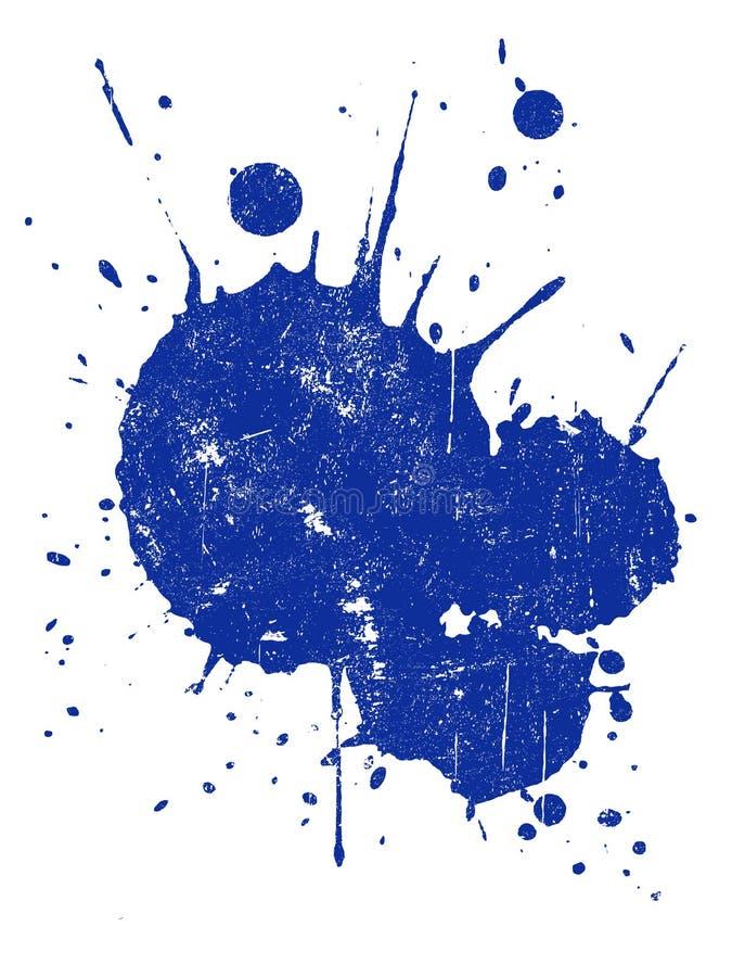 Grunge Splat 1 vektor abbildung
