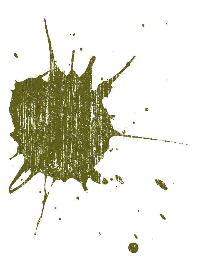 Grunge Splat 12 ilustração stock