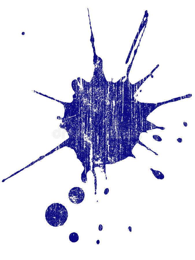 Grunge Splat 2 stock abbildung