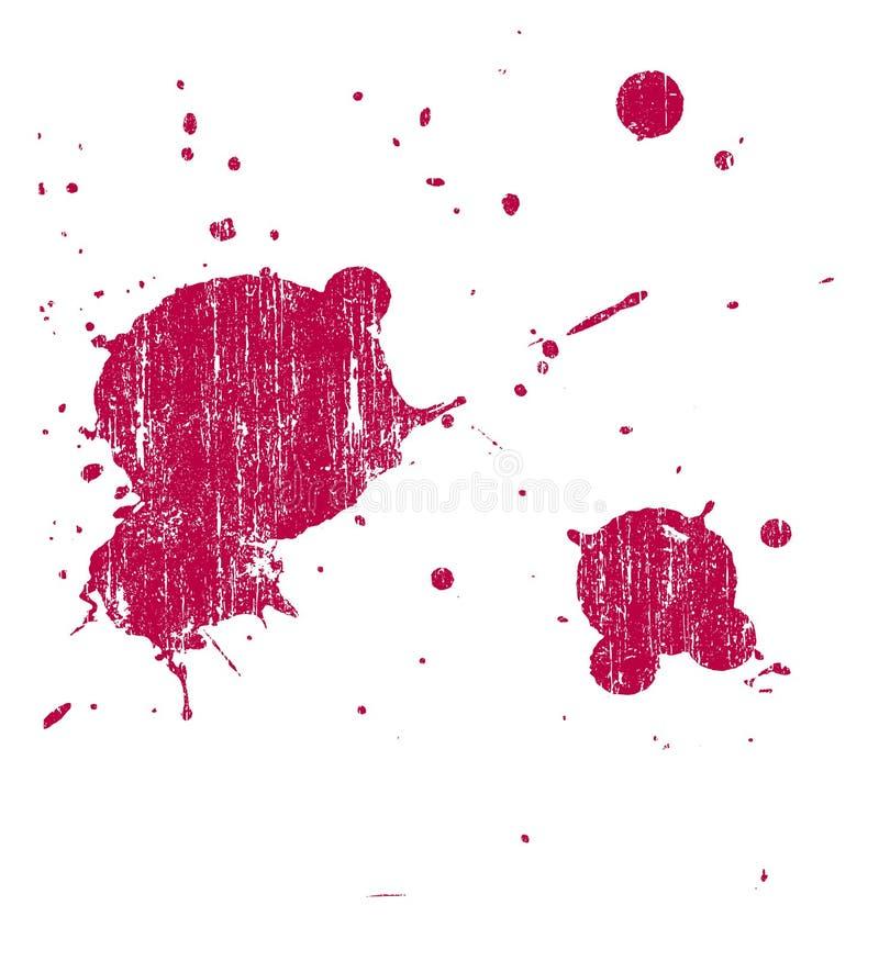 Grunge Splat 4 vektor abbildung