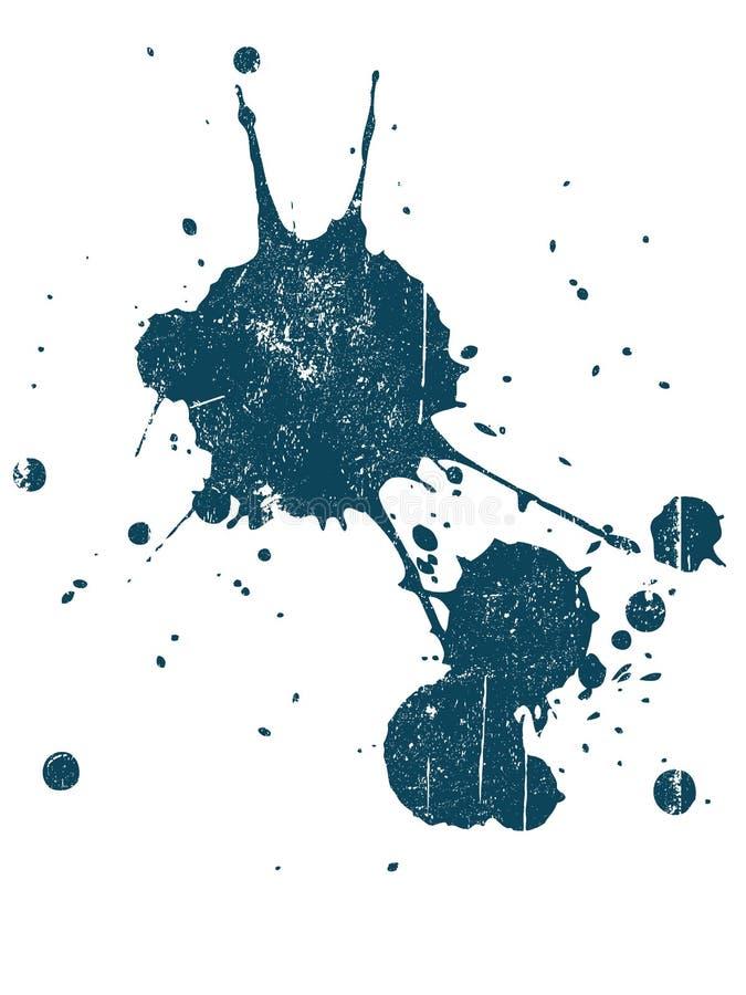Grunge Splat 8 vektor abbildung