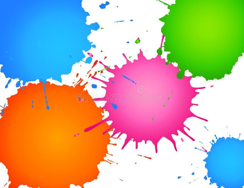 Grunge Spritzenvektor vektor abbildung