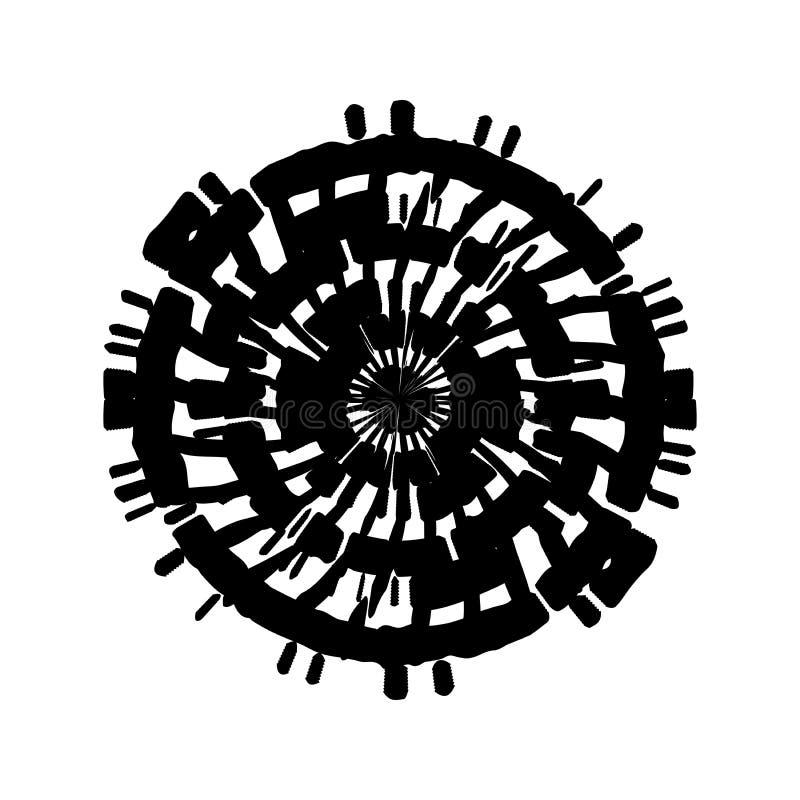 Grunge Stamp Element royalty free illustration