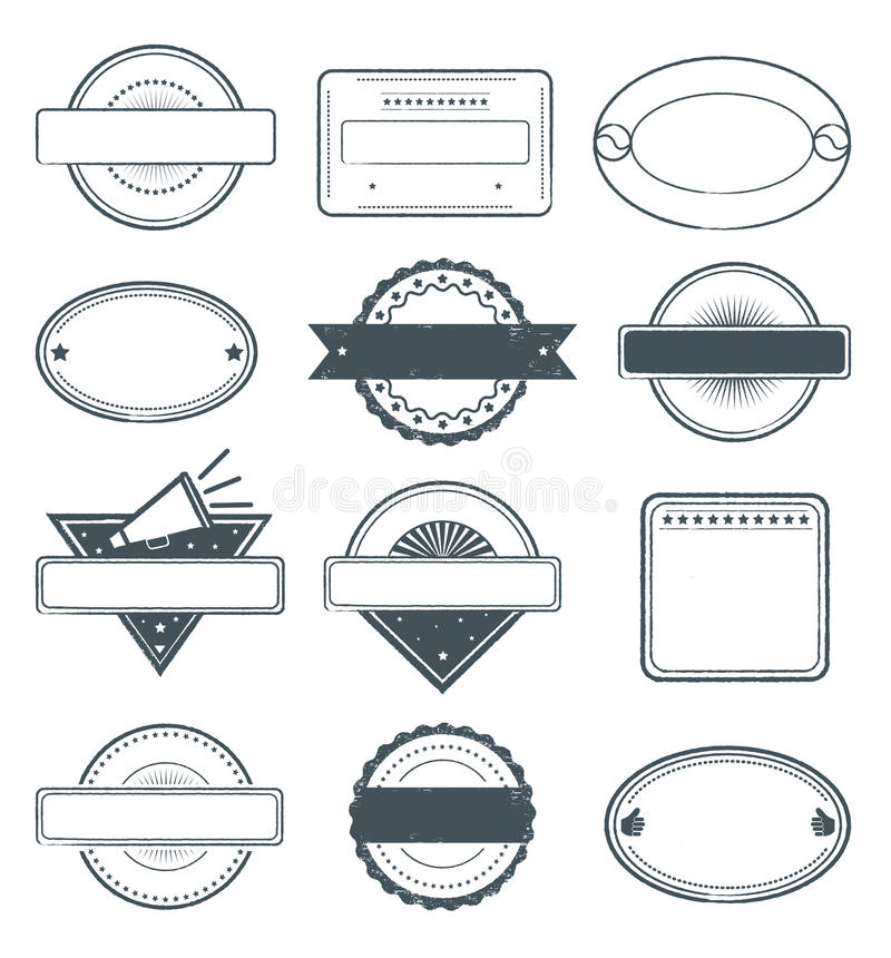 Download Grunge Stamps Frames stock vector. Illustration of guarantee - 25533101