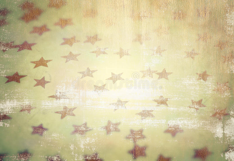 Grunge starry background. Grunge style photo of beautiful starry background, vintage stylish wallpaper, fashionable Christmas decoration stock photography