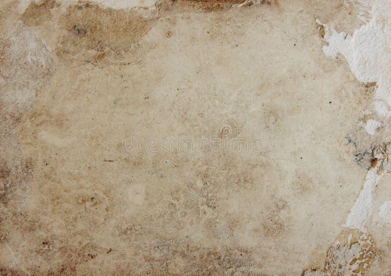 Grunge stary papierowy tło royalty ilustracja