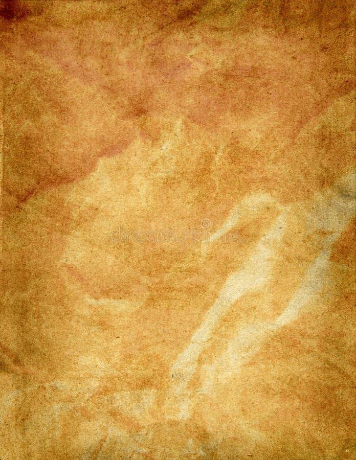 Grunge stary papierowy tło zdjęcie royalty free