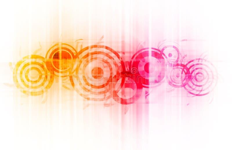 Grunge Straßen-Art-Hintergrund vektor abbildung
