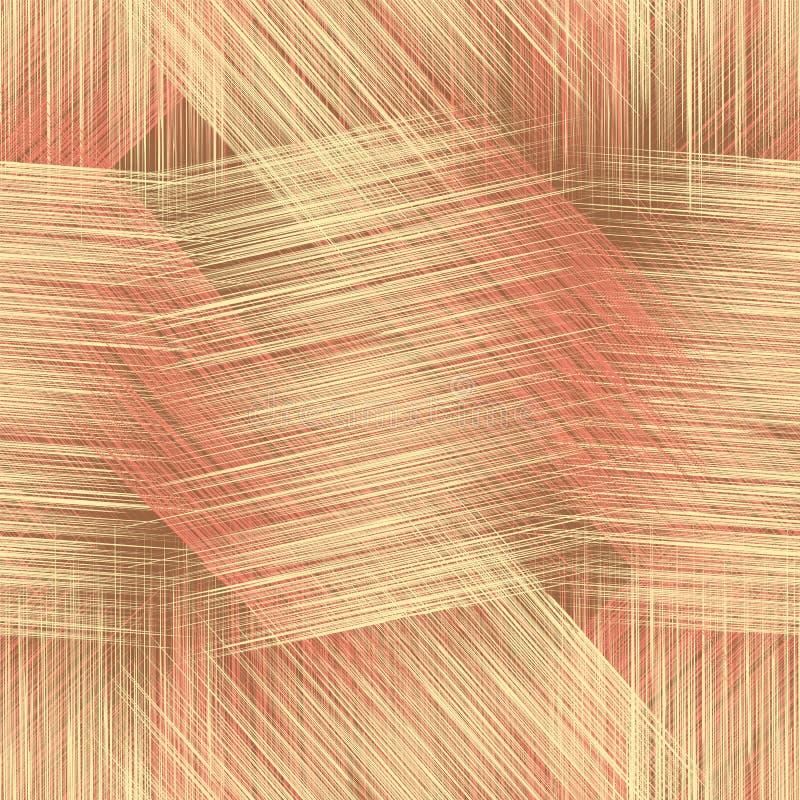 Grunge striped ,checkered,webbed seamless pattern stock illustration