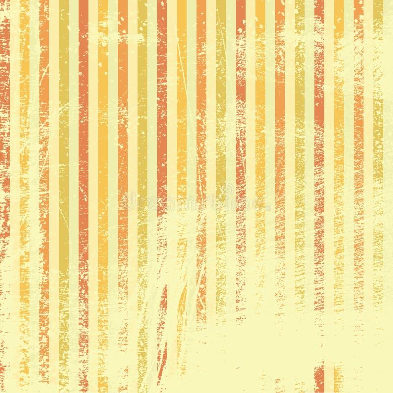 Grunge Striped Wallpaper Royalty Free Stock Photo