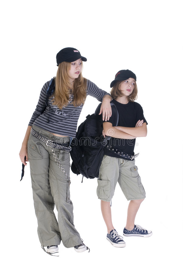 Download Grunge Students stock photo. Image of feminine, rebel - 3138110