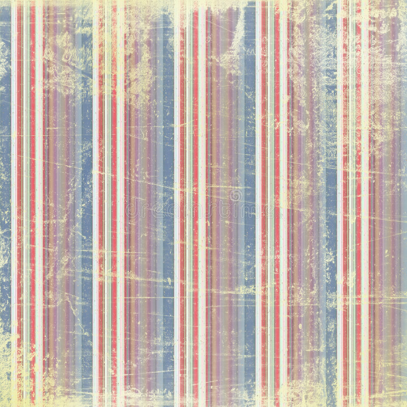 Grunge style: painted lines with rust vector illustration