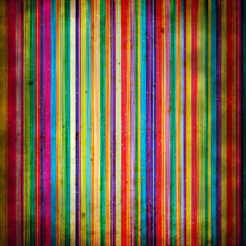 Grunge style: painted lines with stains stock illustration