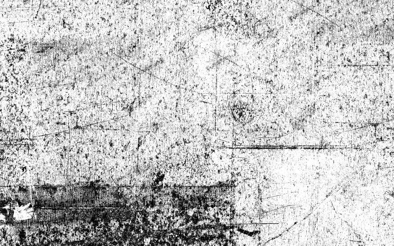 Grunge stylized la superficie di metallo illustrazione vettoriale