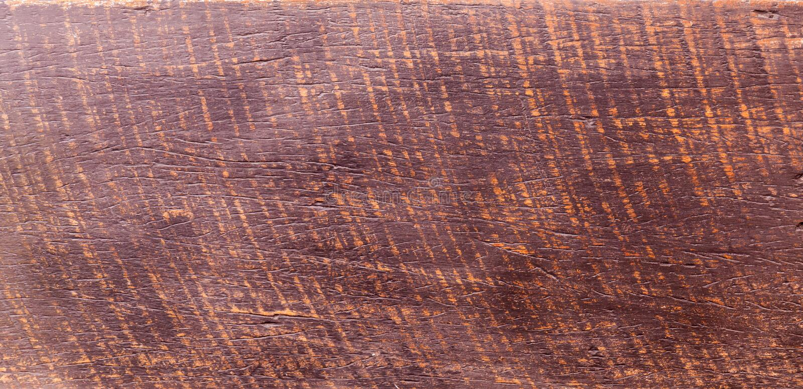 Grunge surface rustic wooden table top view. Wood texture background surface with old natural pattern. tropical rosewood stock photography