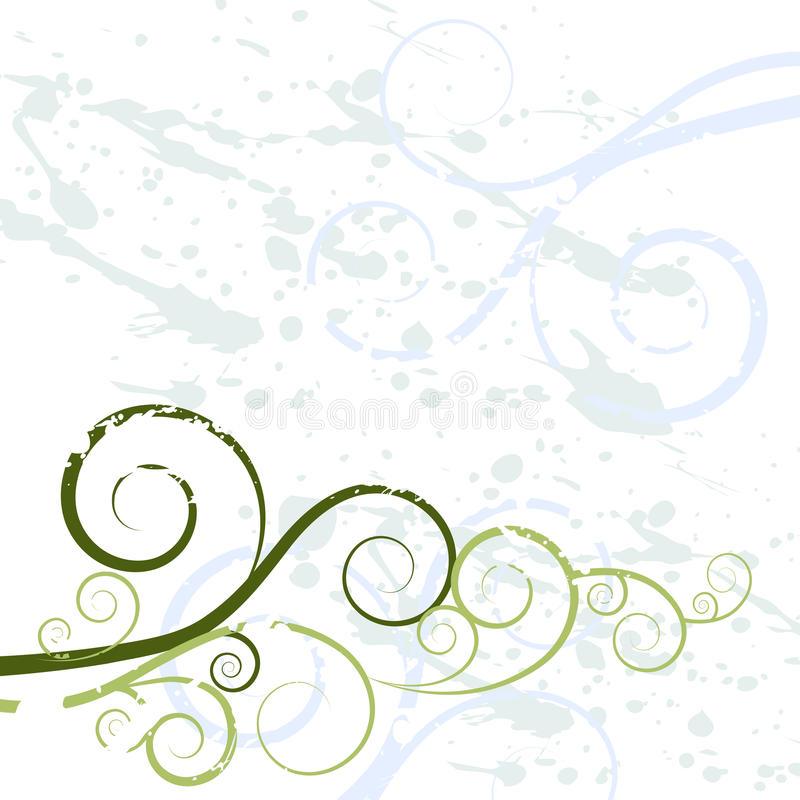 Grunge Swirl Background Texture vector illustration