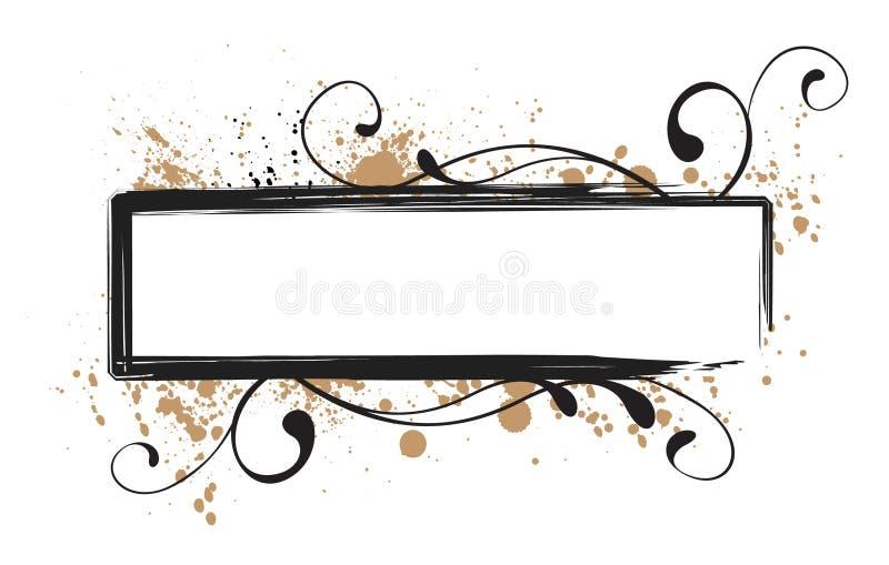 Download Grunge Swirl Frame stock vector. Illustration of computer - 12911490