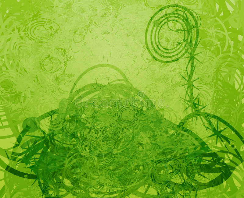 grunge swirly ελεύθερη απεικόνιση δικαιώματος