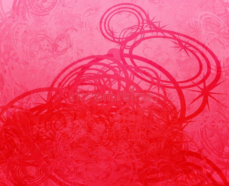grunge swirly απεικόνιση αποθεμάτων