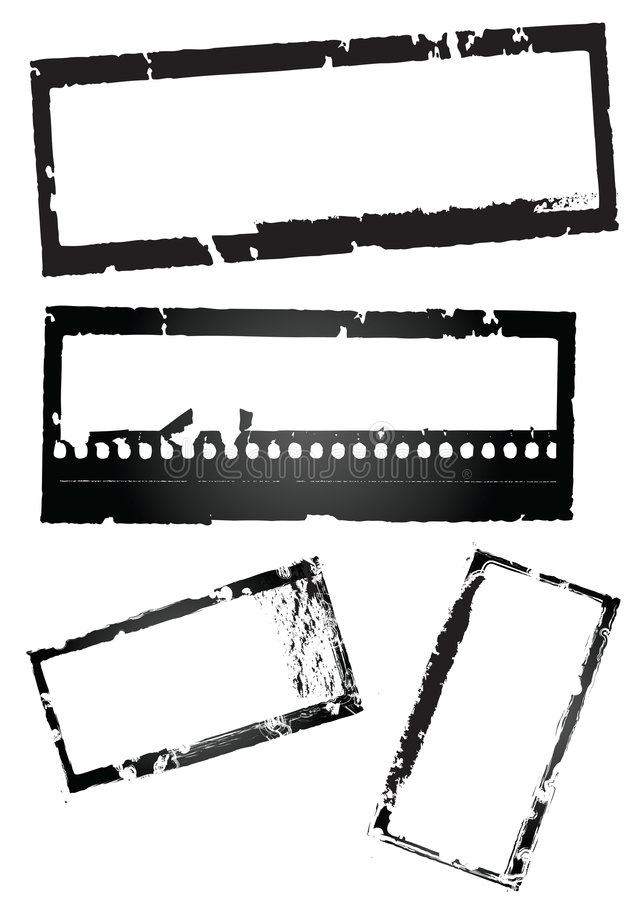 grunge szablon ilustracja wektor