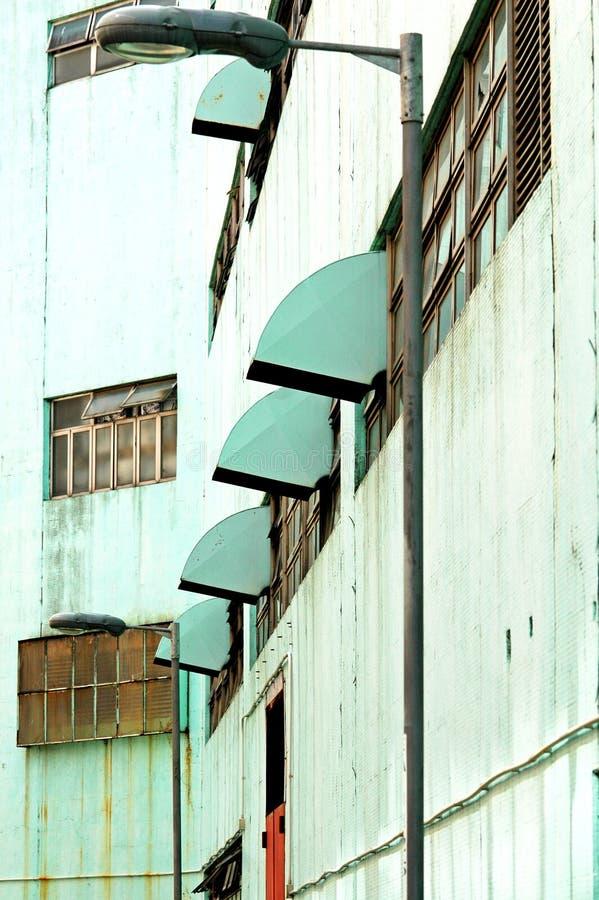 grunge szereg przemysłowe miejskich zdjęcia royalty free