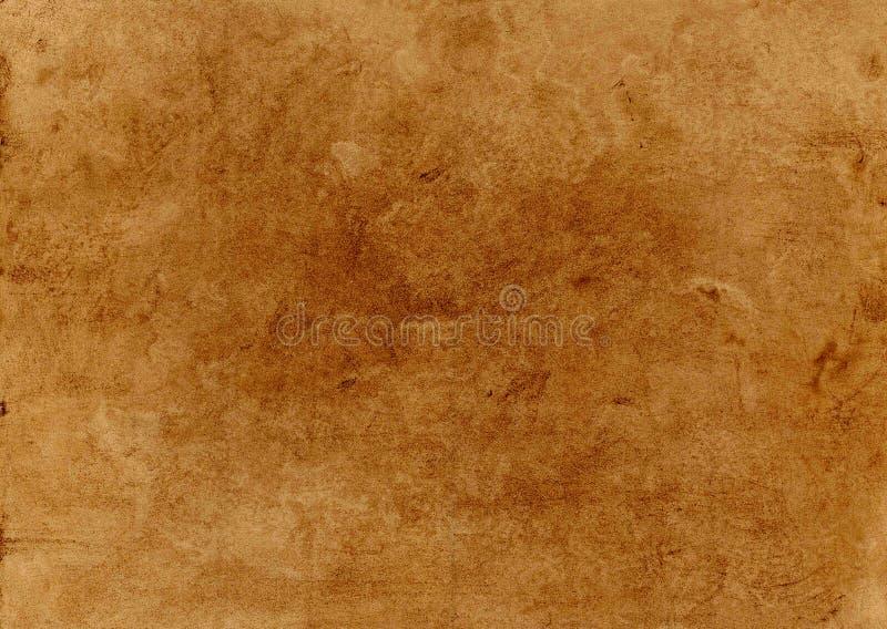 Grunge tło na brąz powierzchni ilustracji